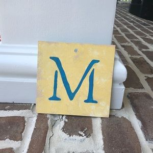 """Other - Wooden """"M"""""""